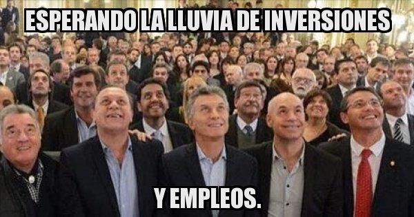 Macri culpa a las marchas la falta de inversiones